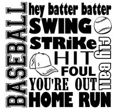 Baseball Sayings Wall Decal Sticker Art Mural Home Décor Quote * Click image for more details. (This is an affiliate link and I receive a commission for the sales) Baseball Quotes, Baseball Pictures, Golf Quotes, Sports Baseball, Golf Sayings, Softball, Baseball Wall, Baseball Crafts, Tigers Baseball