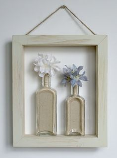 shadow box idea...so cute for a gift!
