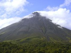 Arenal Volcano at San Carlos, Costa Rica. by Tony Blanco on 500px