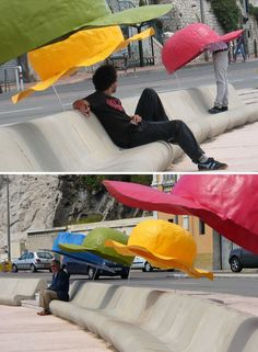Hat Park Bench