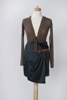 zöld szoknya, riffraff, meska.hu #dress How To Make, Clothes, Women, Fashion, Outfit, Clothing, Moda, Women's, La Mode