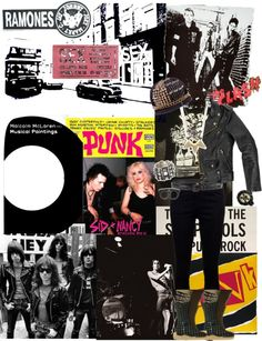 """""""An Ode to """"Punk: Chaos to Couture."""""""" by topstoshop on Polyvore"""