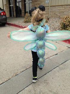 DIY Dragonfly Halloween Costume Idea