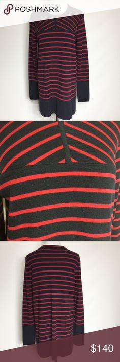 TORY BURCH SWEATER DRESS/TUNIC EUC 100% merino wool. Very soft and comfy. Tory Burch Sweaters Crew & Scoop Necks