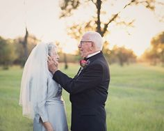 Este casal esperou 70 anos para fazer as fotos do casamento - eNoivado