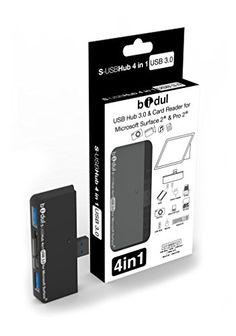 USB HUB 3.0 & card reader 4 in 1 for tablet Microsoft, Surface Pro 3, Surface Pro 2, Surface 2 and Surface Pro BIDUL http://www.amazon.co.uk/dp/B00HWMP108/ref=cm_sw_r_pi_dp_czw8ub17VF82R