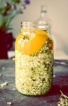 Orange and Elderflower Liquer Recipe