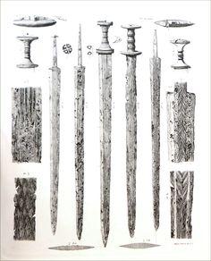 Engelhardt plate Nydam swords