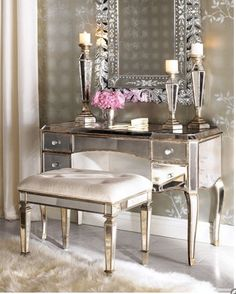 Vintage glam decor