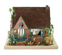 Elsa Mora. Casa de muñecas de Frida Kahlo