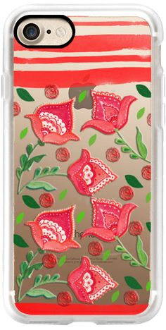 Casetify iPhone 7 Classic Grip Case - Embroidery by Li Zamperini Art #Casetify