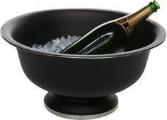 Cosy & Trendy Black Champagne Emmer Op Voet - Ø 41 cm x 20 cm