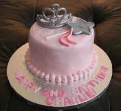 Lena wan'ts a crown, a and and a bracelet on her princess cake