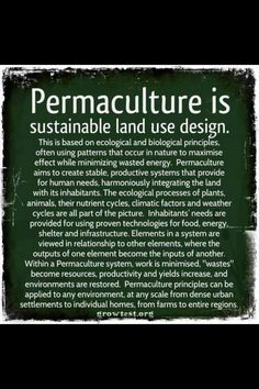 It is important that you start understanding about permaculture design course and what solar energy can do for you as a residential or commercial property owner.