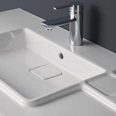 Ciane Single lever basin mixer with pop up waste Loft Bathroom, Wall Hung Vanity, Basin Mixer, Pop Up, Sink, Home Decor, Ideas, Sink Tops, Vessel Sink