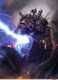 warbike,Orks,Warhammer 40000,warhammer40000, warhammer40k, warhammer 40k, ваха, сорокотысячник,фэндомы,WAAAAAGH,warboss,darren tan