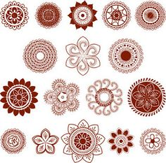 Mehendi (Henna) Symbols, Patterns and meanings