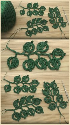 Crochet Leaves Crochet Leaves Best Picture For Crochet dress For Your Taste You are looking for something, and it is going to tell you exactly. Crochet Leaf Patterns, Crochet Leaves, Tatting Patterns, Crochet Patterns For Beginners, Crochet Motif, Irish Crochet, Crochet Yarn, Crochet Flowers, Crochet Hooks