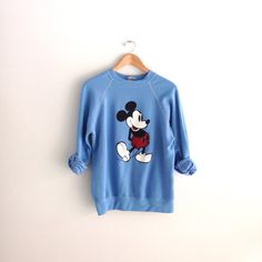 80s vintage Mickey Mouse Disney Sweatshirt by louiseandco on Etsy, $25.00