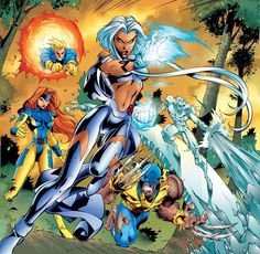 X-Men by Joe Madureira  Auction your comics on http://www.comicbazaar.co.uk