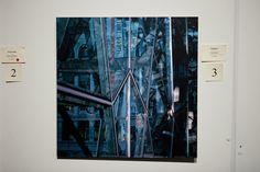 'Citylines', photograph printed on polish metal by Cindy Flook Photograph, Polish, Printed, Metal, Painting, Art, Photography, Craft Art, Fotografie