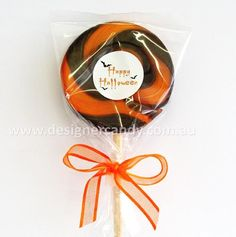 It's almost that spooky time of year again....Halloween! Designer Candy has the scariest and tastiest range of candy for you party goers or trick or treaters! These old-fashion swirl lollipops are available in various sizes and can be ordered with the sticker and ribbon (self-assembly) For more information and prices visit: http://designercandy.com.au/all-seasons/halloween/ #designercandy #halloween #halloweencandy #trickortreat #candy #lollipops #halloweenparty #eventsweeteners