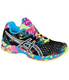 ASICS Women´s GEL-Noosa Tri 8 Running Shoes   Dillard's Mobile.. I love bright colors & they glow in the dark!!!