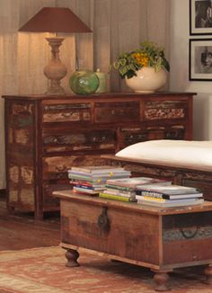 Nantucket Series Bedroom Chest and Blanket Chest