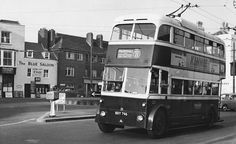 Trolleybus at Old Town - Hastings