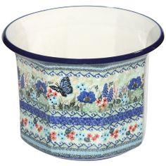 Unikat flowerpot by Polish pottery. Stunning! :)