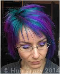 Resultado de imagen de TURQUOISE HAIR OVER PURPLE
