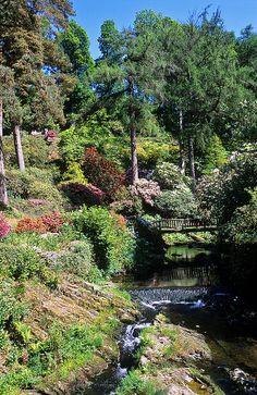 Bodnant Gardens, Conwy, Wales, UK | Bridge over River Hiraethlyn in Valley Garden (5 of 15) | Flickr - Photo Sharing!