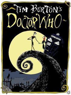 Tim Burton Style DOCTOR WHOArt - News - GeekTyrant