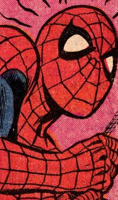 entry from - Oldschool Spiderman close up. Pollard (pencils) & Jim Moo -An entry from - Oldschool Spiderman close up. Comics Anime, Bd Comics, Marvel Comics, Comic Books Art, Comic Art, All Spiderman, The Amazing Spiderman 2, Oldschool, Marvel Wallpaper