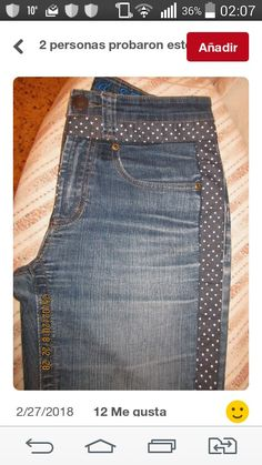 Plus Size Sewing, Mode Jeans, Old Sweater, Denim Crafts, Refashion, Sewing Hacks, Sewing Patterns, Shorts, My Style