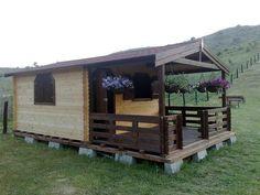 Casute din lemn & Casute de gradina Backyard Bbq, Bbq Grill, Shed, Outdoor Structures, Romania, Gardening, Google, Projects, Beautiful