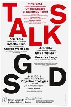 Harvard University Graduate School of Design, GSD Talks - DeValence