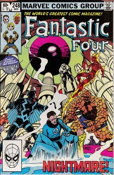 Fantastic Four 1961 1st Series 248 November 1982 by ViewObscura, $3.00