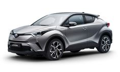 The Toyota C-HR is a coupe-like crossover that has a very stylish and a modern design. This model has a beefed up muscular body, as the body parts are made