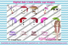 1' Bottle caps (4x6) 3 part ornaments D501 Christmas  3 Part BottleCap Ornaments Image #3partOrnaments  #bottlecap #BCI #shrinkydinkimages #bowcenters #hairbows #bowmaking #ironon #printables #printyourself #digitaltransfer #doityourself #transfer #ribbongraphics #ribbon #shirtprint #tshirt #digitalart #diy #digital #graphicdesign please purchase via link  http://craftinheavenboutique.com/index.php?main_page=index&cPath=323_533_42_114