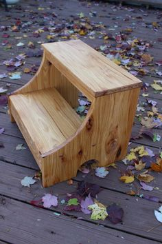 Hey, I found this really awesome Etsy listing at https://www.etsy.com/listing/488214051/rustic-hickory-step-stool-farmhouse-wood