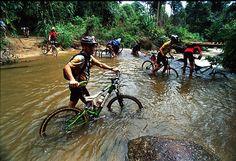 Water looks nice! #MTB #trails #mountain #bike