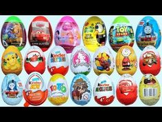 New pack Surprise Eggs Sonic Hello Kitty Mikey Kinder surprise egg Toys ...