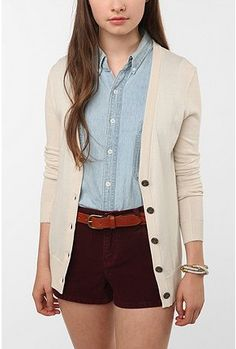 Perfect preppy outfit from Urban Outfitters.