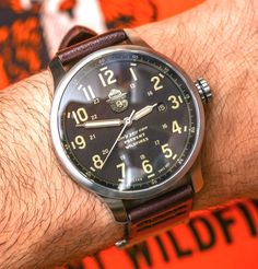 Filson Smokey Bear Watch – By Shinola – Review