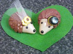 Alternative Wedding Cake topper