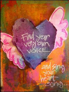 Find Your Voice... :)