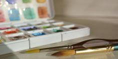 Tudo sobre tintas de aquarela
