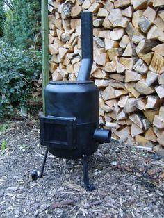 Little Eaton Smithy - Gas bottle stove Diy Heater, Stove Heater, Stove Oven, Tent Heater, Gas Bottle Wood Burner, Diy Wood Stove, Wood Burning Heaters, Stove Accessories, Wood Rack