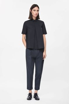 COS | Pleated front shirt